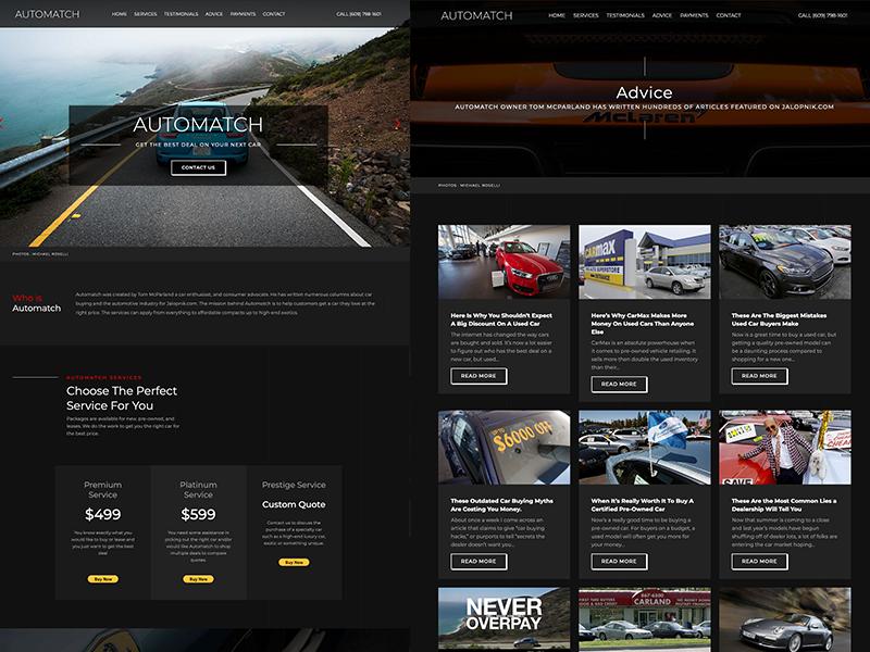 Automatch Web Design